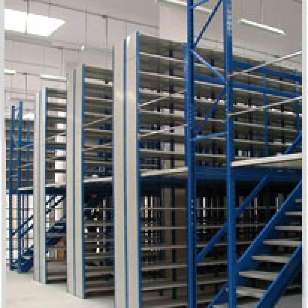 Slotted Angle Storage